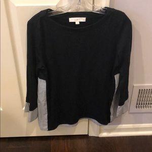 Loft Sweater / Shirt combo -Petite